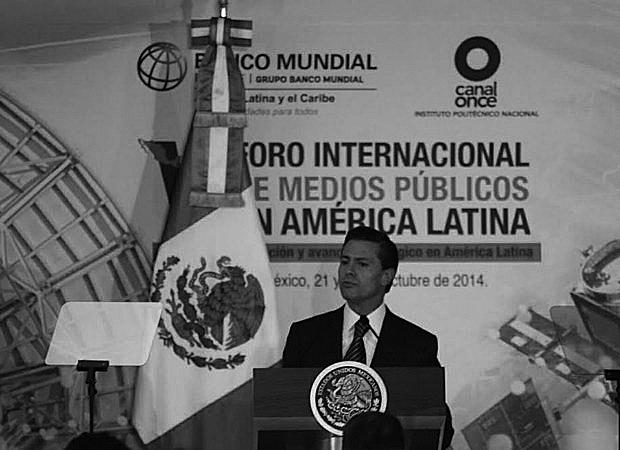 Garantiza Peña Nieto libertad de expresión para medios públicos y privados