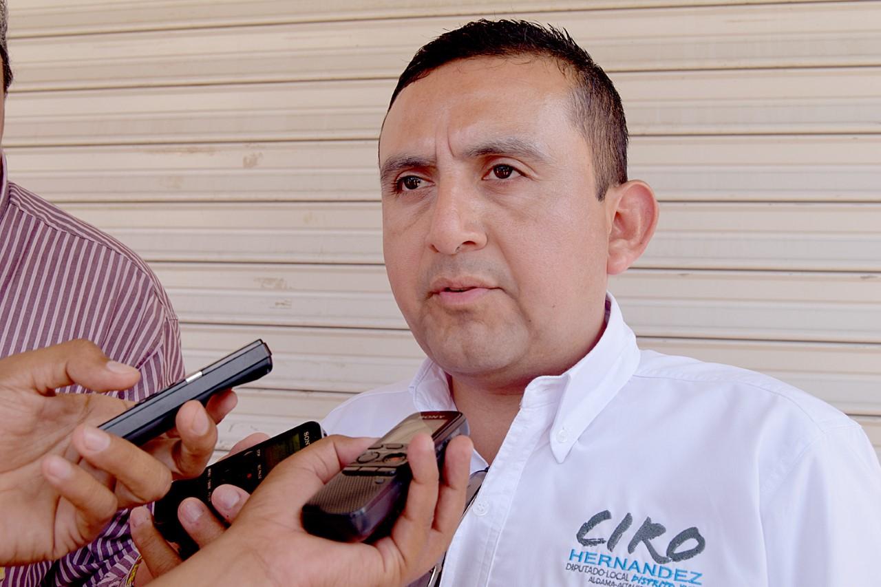 Constructiva e incluyente , mi campaña sin sembrar el miedo: Ciro Hernández