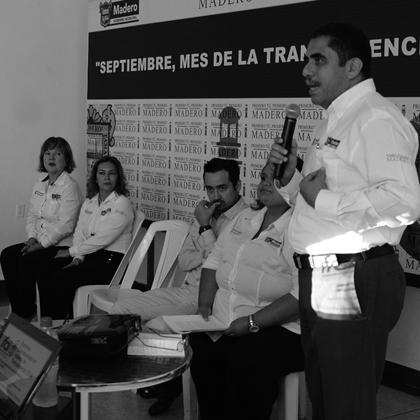 Ciudad Madero, Municipio con Gobierno Transparente