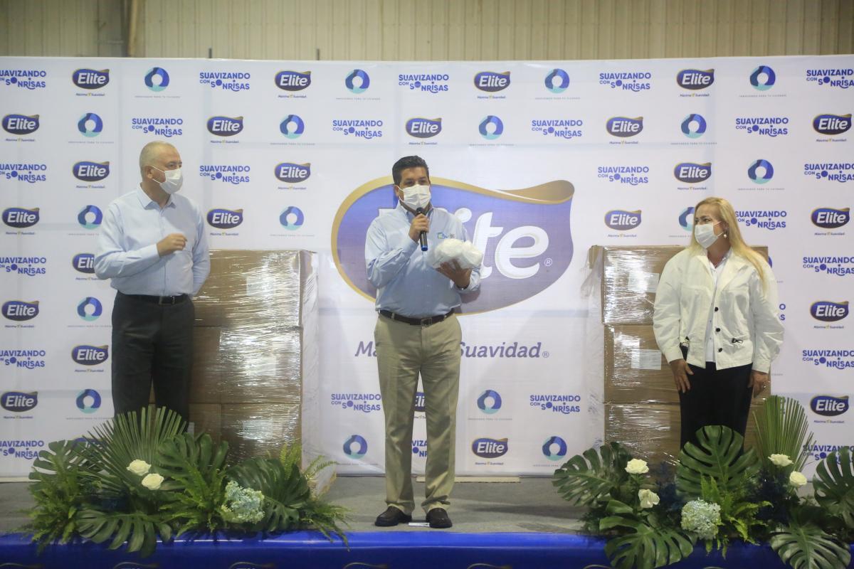 En Altamira; recibe Gobierno de Tamaulipas 450 mil cubrebocas