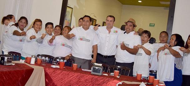 20 líderes se unen a Griselda Carrillo y no a la no formula completa en Altamira
