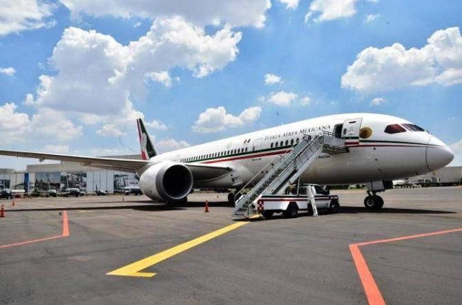 Regresa a México el polémico avión presidencial que no pudo ser vendido en EEUU ni rifado en México
