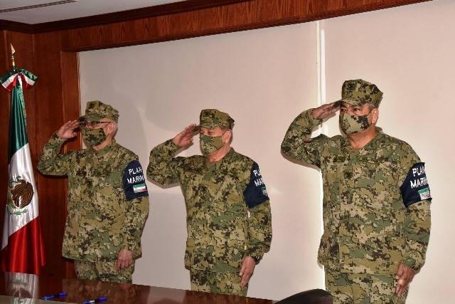Primeros cambios en la plana mayor de la Marina de México con López Obrador
