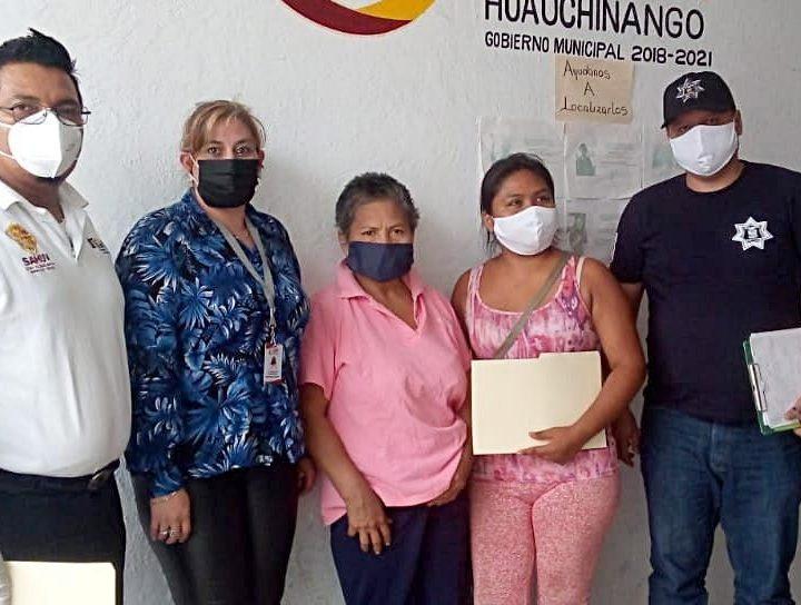 Comisión de búsqueda de personas localiza sana y salva a Paula Cuervo, originaria de Tihuatlán