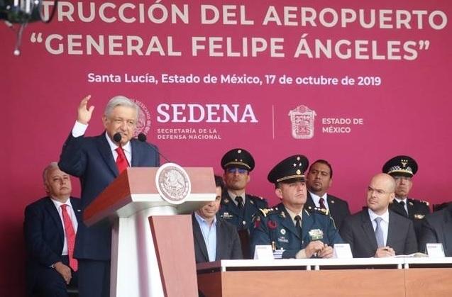El Gobierno de México abre en Internet el portal del nuevo aeropuerto de Santa Lucía