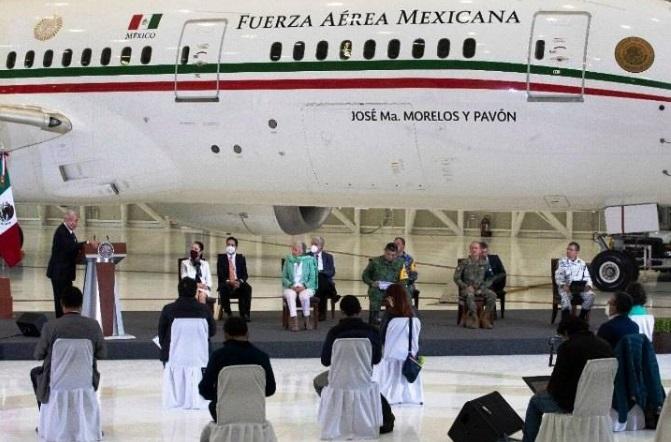 López Obrador vuelve a la carga con el invendible avión presidencial