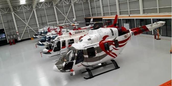 Todo listo para iniciar las pruebas de vuelo del helicóptero ruso Ansat en México