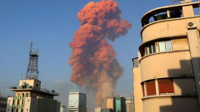 Líbano: una fuerte explosión en el puerto de Beirut deja al menos 73 muertos y más de 4 mil heridos
