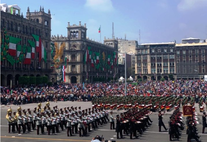 El COVID-19 obliga a modificar festejo y desfile militar por Independencia de México