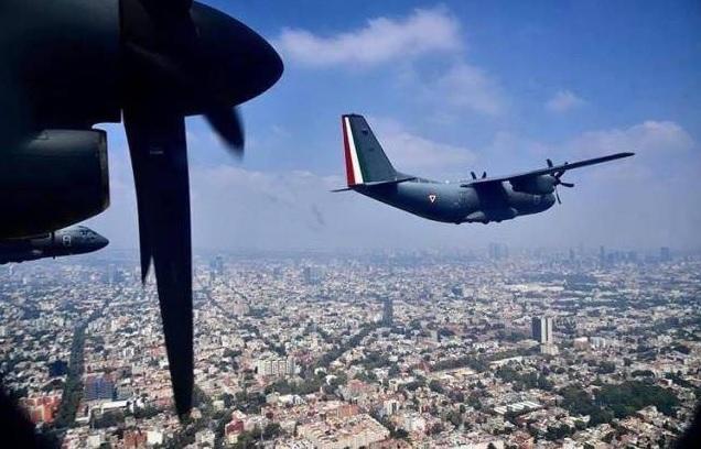 Los actos militares por aniversario Independencia de México se convierten en homenaje a quienes luchan contra la pandemia