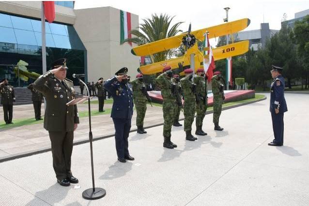 La Fuerza Aérea Mexicana tiene nuevo comandante