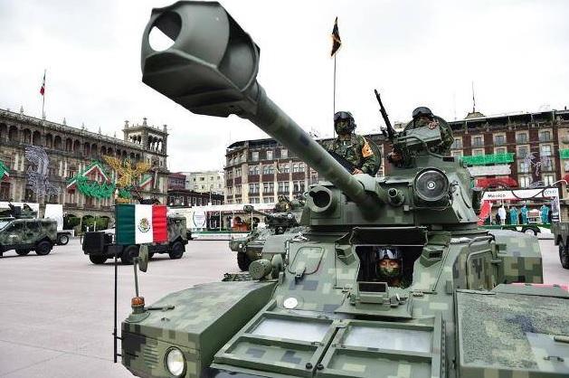 Las Fuerza Armadas de México recibirán un 3,40% de incremento en sus salarios