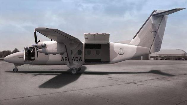 La Fuerza Aeronaval de México podría ser el primer operador militar del nuevo Cessna 408 SkyCourier